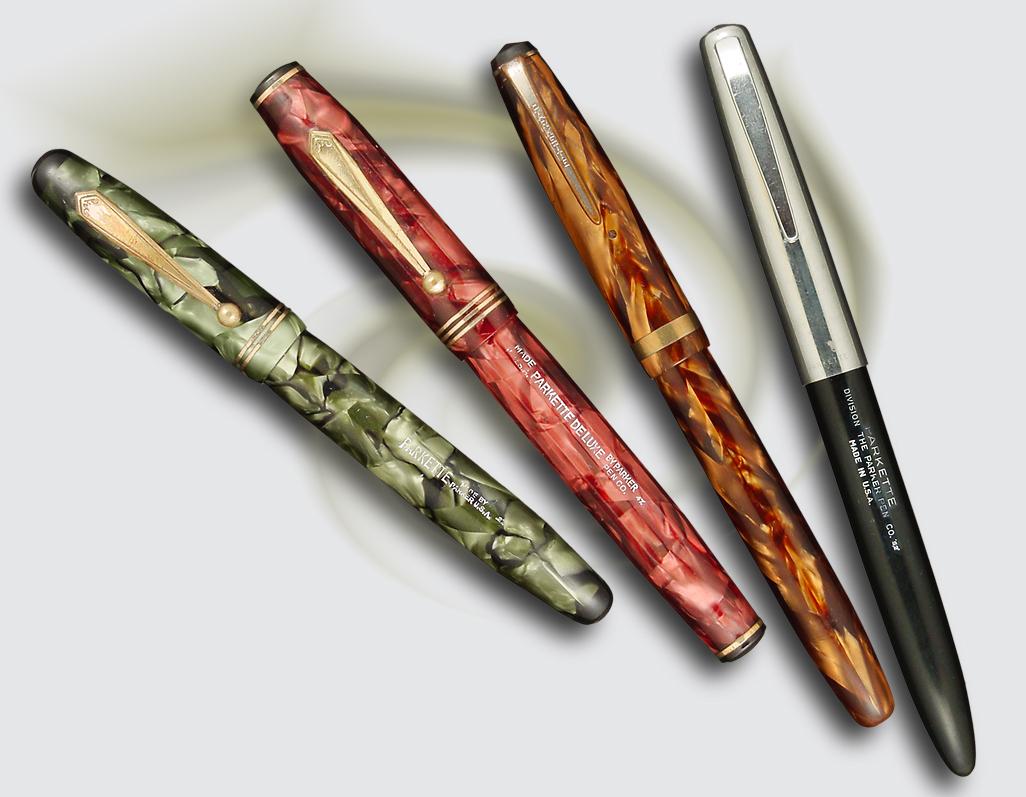 Dating parker pen clips